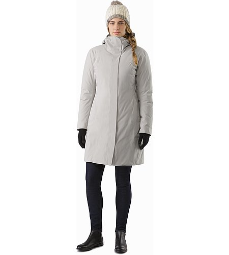 Centrale Parka Women's Fawn Front View