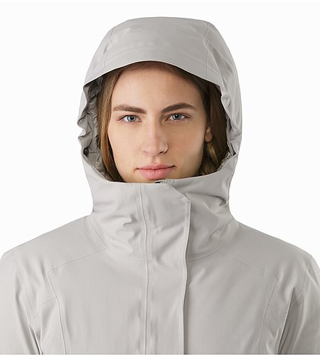 Centrale Parka Women's Fawn Hood Front View
