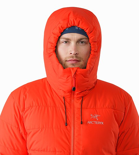 Ceres SV Parka Magma Hood Front View