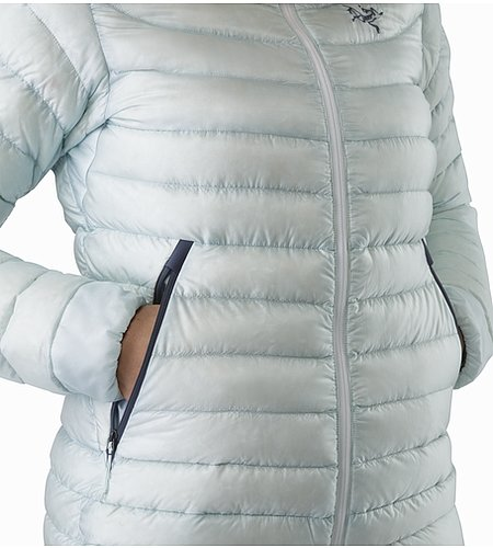 Cerium LT Hoody Women's Dew Drop Hand Pocket 2