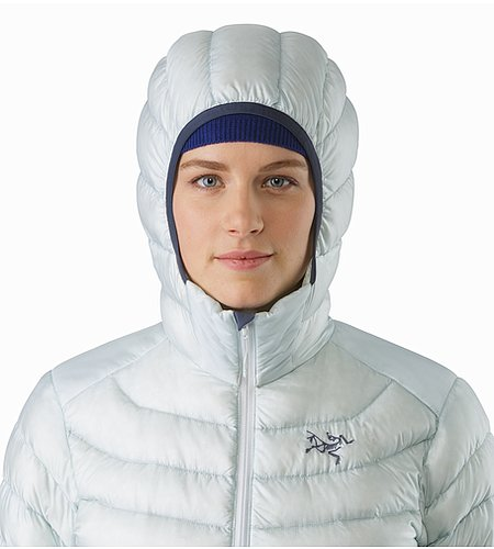 Cerium LT Hoody Women's Dew Drop Hood Front View 2