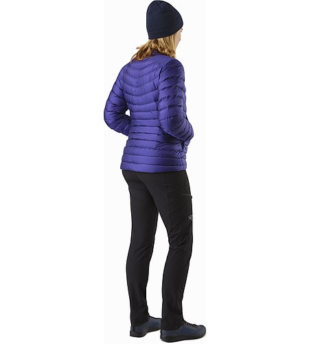 Cerium LT Jacket Women's Dahlia Back View 2
