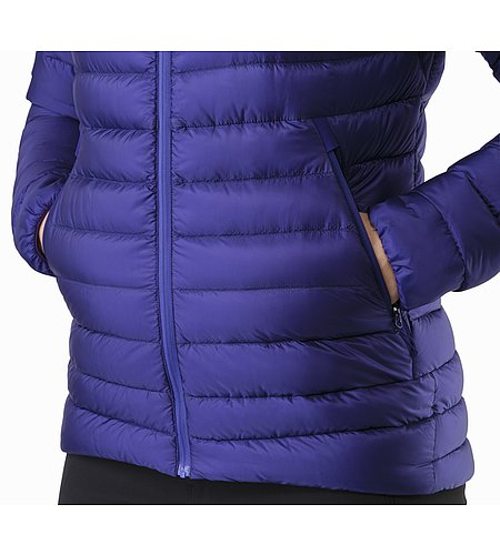 Cerium LT Jacket Women's Dahlia Hand Pocket 2