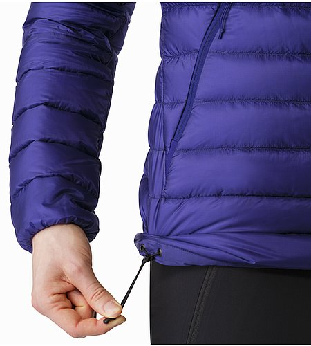 Cerium LT Jacket Women's Dahlia Hem Adjuster 2