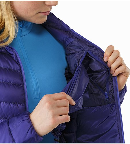 Cerium LT Jacket Women's Dahlia Internal Pocket 2