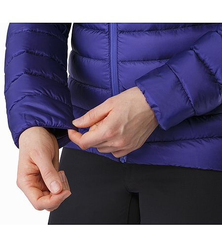 Cerium LT Jacket Women's Dahlia Stretch Cuffs 2