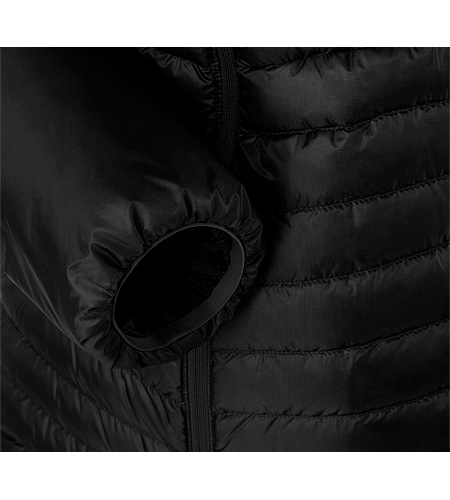 Cerium SL Jacket Black Cuff Detail