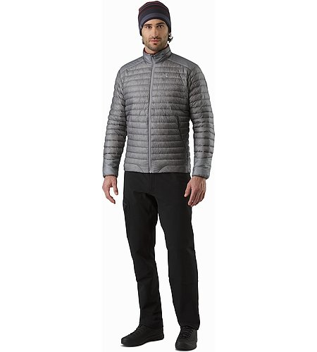 Cerium SL Jacket Smoke Front View