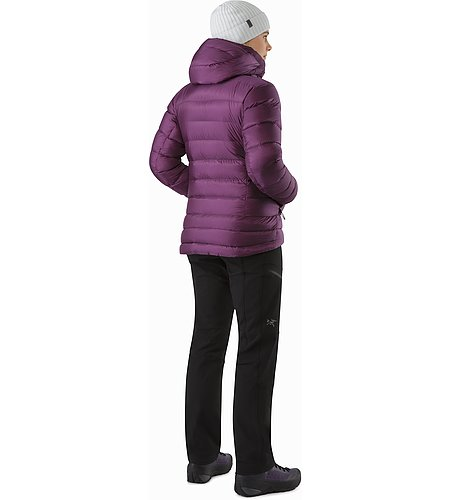 Cerium SV Hoody Women's Purple Reign Back View 2