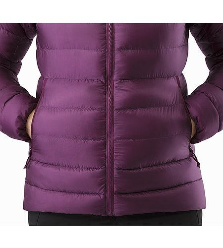Cerium SV Hoody Women's Purple Reign Hand Pocket 2