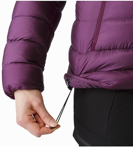 Cerium SV Hoody Women's Purple Reign Hem Adjuster 2