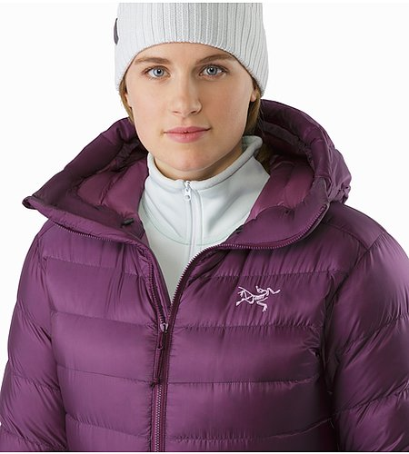 Cerium SV Hoody Women's Purple Reign Open Collar 2