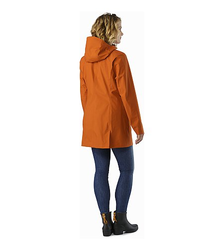 Codetta Coat Women's Tika Back View