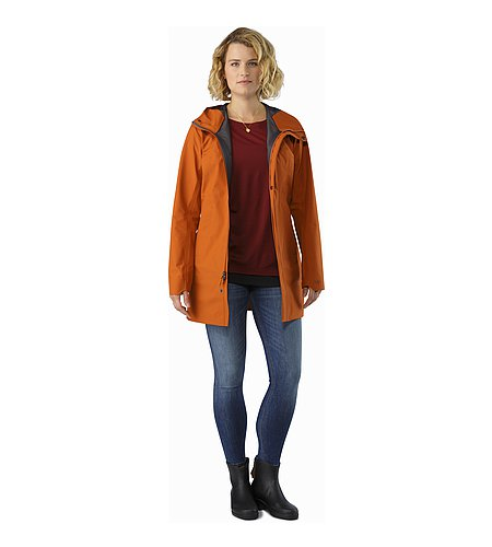 Codetta Coat Women's Tika Open View