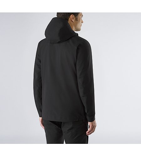 Conduct Anorak Black Back View