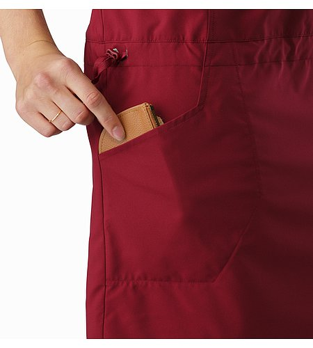 Contenta Dress Women's Scarlet Hand Pocket