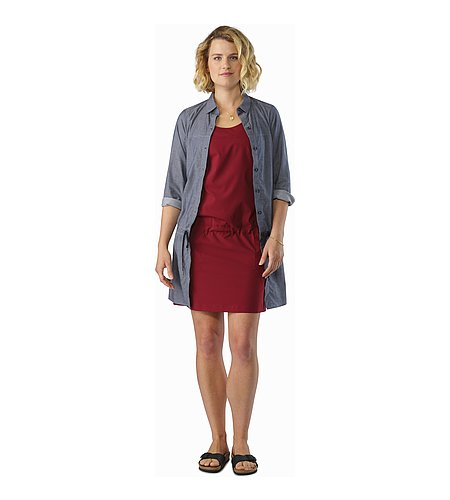 Contenta Dress Women's Scarlet Outfit