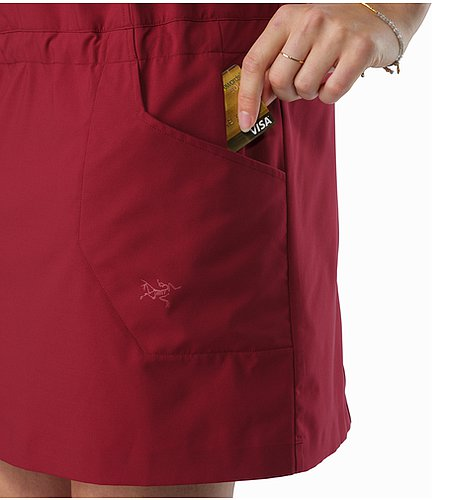 Contenta Dress Women's Scarlet Security Pocket