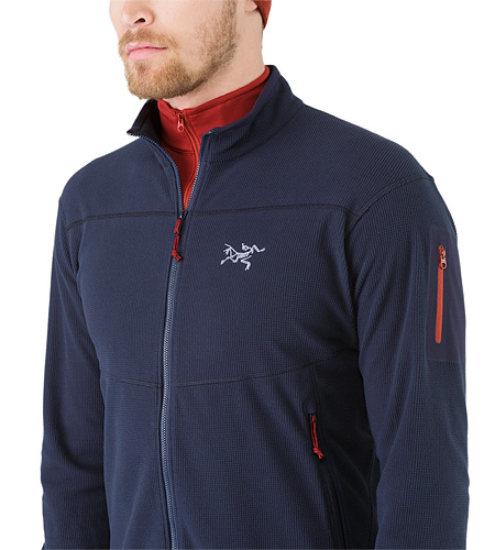 Delta LT Jacket Admiral Open Collar
