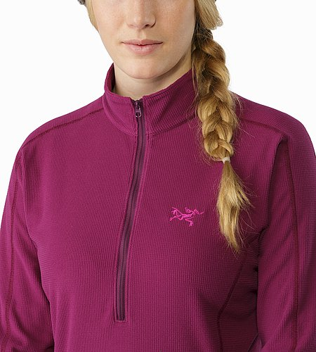 Delta LT Zip Neck Women's Lt Chandra Collar