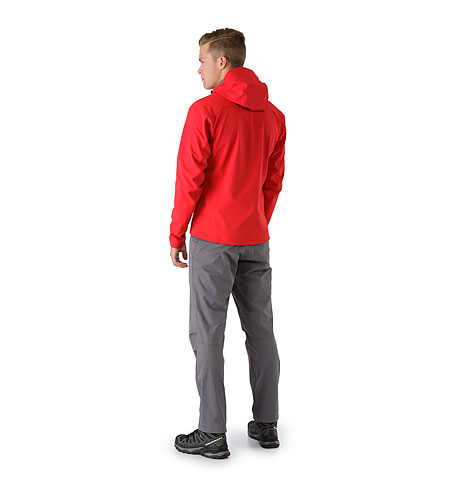 Epsilon LT Hoody Diablo Red Back View