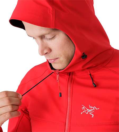 Epsilon LT Hoody Diablo Red Hood Adjuster