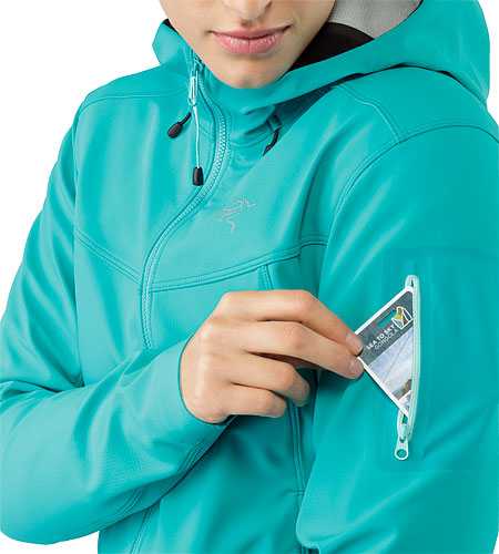 Epsilon LT Hoody Women's Castaway Sleeve Pocket