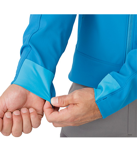 Epsilon LT Jacket Macaw Cuffs