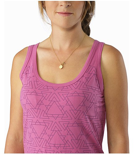 Equilateral Tank Women's W Calluna Graphic Close Up
