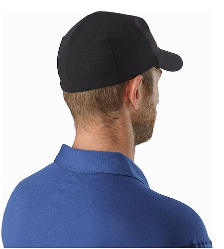 Escapa Cap Black Back View