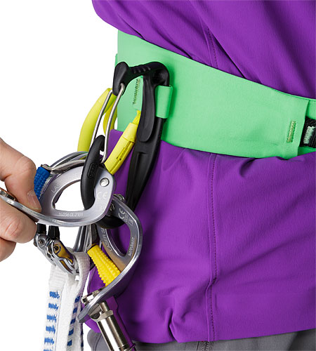 FL-355 Harness Green Orchid Ice Clipper Slot