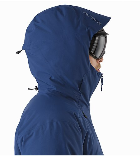 Fissile Jacket Triton Helmet Compatible Hood Side View
