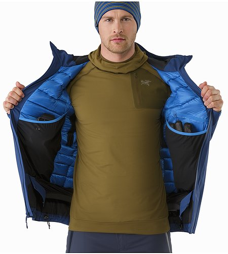 Fissile Jacket Triton Internal Dump Pockets