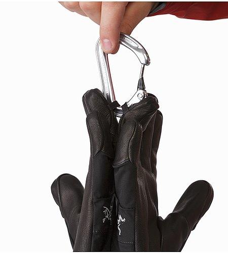 9dbb41d2 Fission Glove Black karabinerløkke