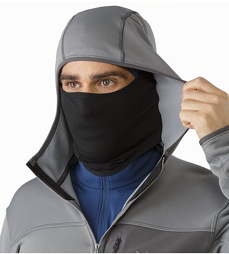 Fortrez Hoody Smoke Integrated Balaclava