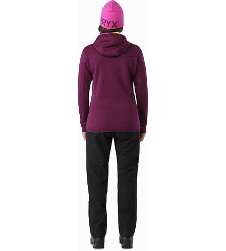 Fortrez Hoody Women's Lt Chandra Back View