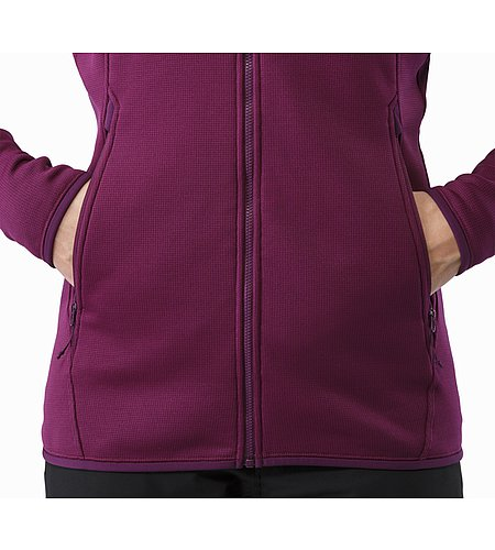Fortrez Hoody Women's Lt Chandra Hand Pocket