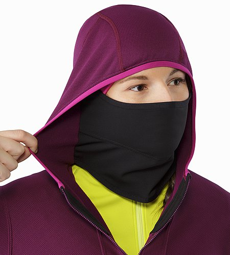 Fortrez Hoody Women's Lt Chandra Integrated Balaclava