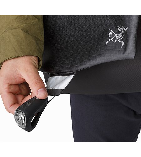 Fyx 13 Messenger Bag Black Refletive Patch Attachment Cord