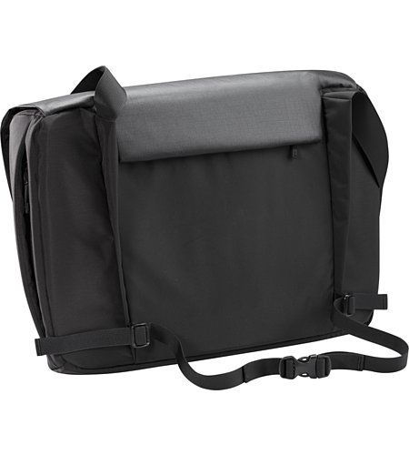 Fyx 13 Messenger Bag Black Suspension