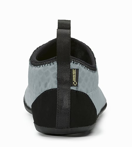 GORE-TEX Low Liner Moraine Black Rear View