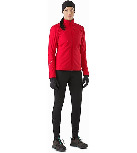 Gaea Jacket Women's Radicchio Front View