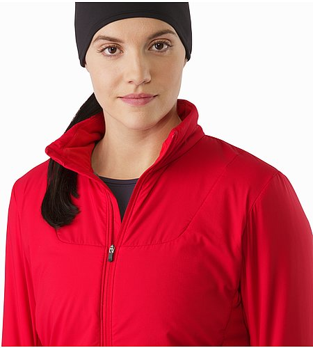 Gaea Jacket Women's Radicchio Open Collar