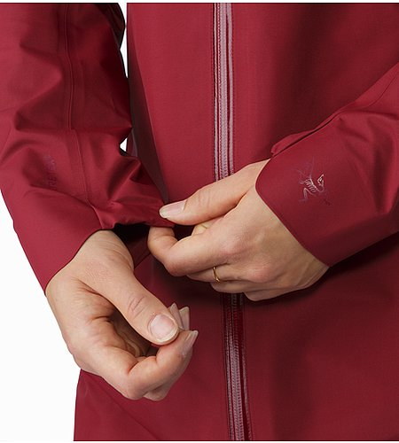 Imber Jacket Women's Scarlet Stretch Cuffs