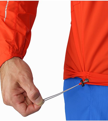 Incendo Jacket Cardinal Hem Adjuster
