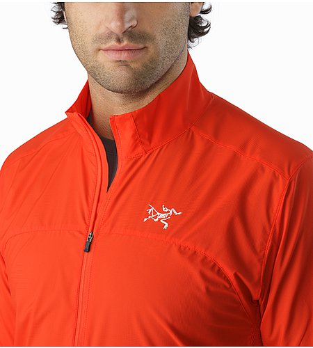 Incendo Jacket Cardinal Open Collar