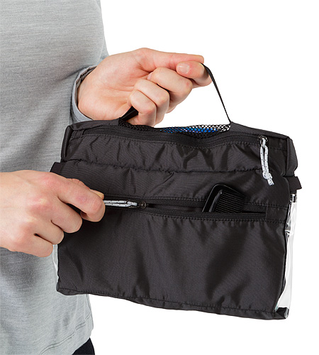 Index Dopp Kit Carbon Copy Back Pocket
