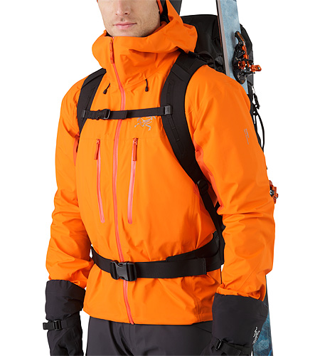 Khamski 38 Backpack Mercury Verstellbarer Brustgurt und Hüftgurt