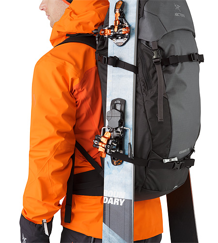 Khamski 38 Backpack Mercury  Kompressionsriemen