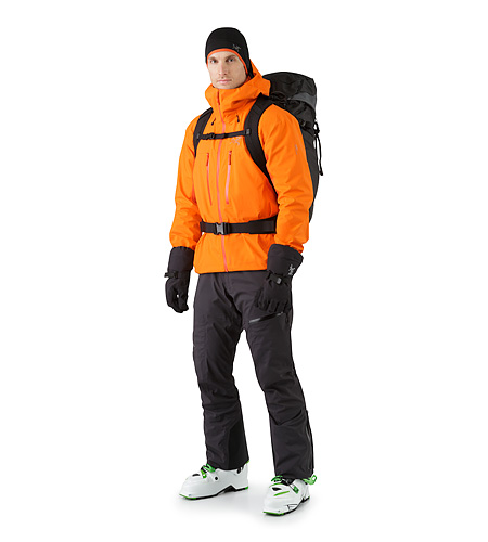 Khamski 38 Backpack Mercury Front View